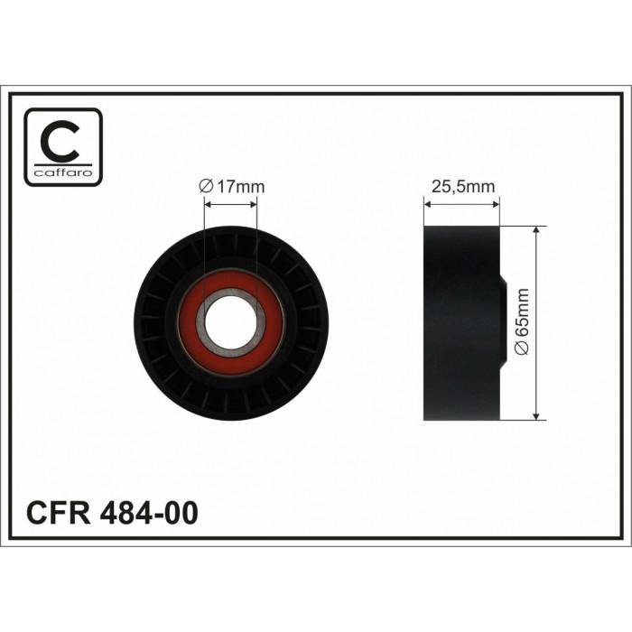 Ролик натяжителя ремня приводного OM651