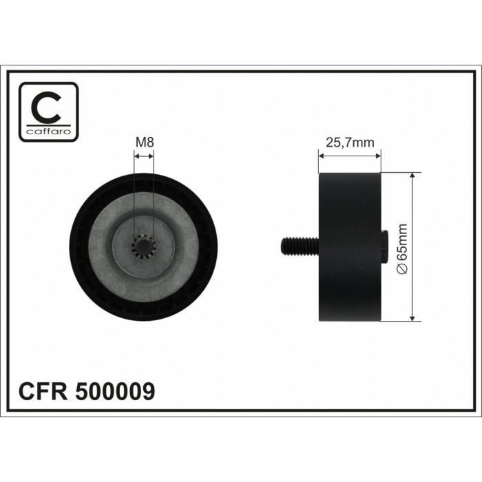 Ролик натяжной ремня приводного OM651