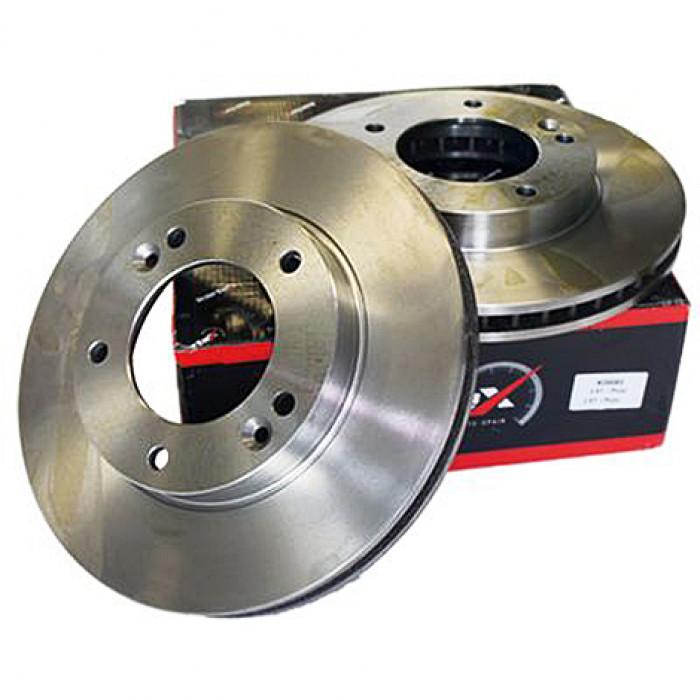 Диск тормозной передний E60 324 mm.